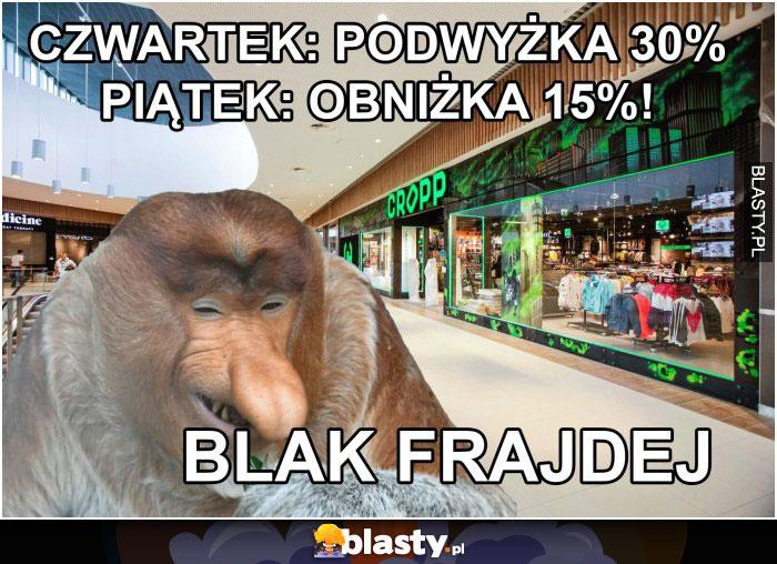 Black frajdej