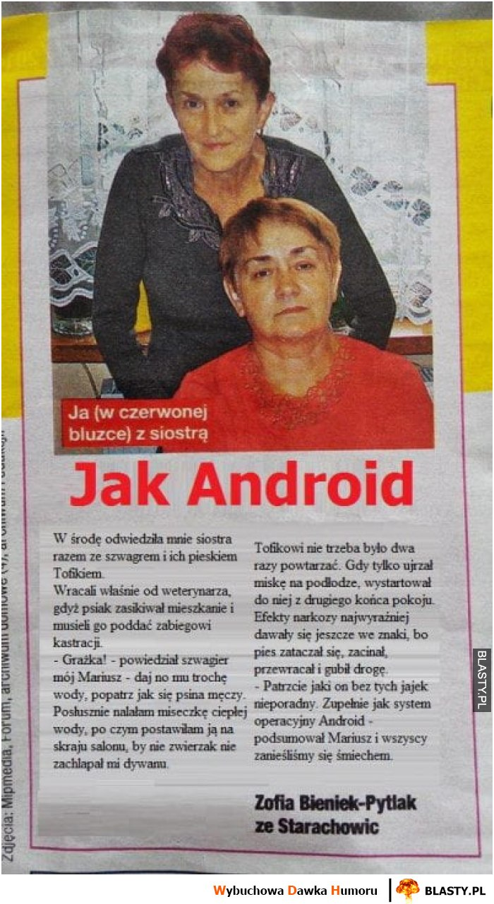 Jak android