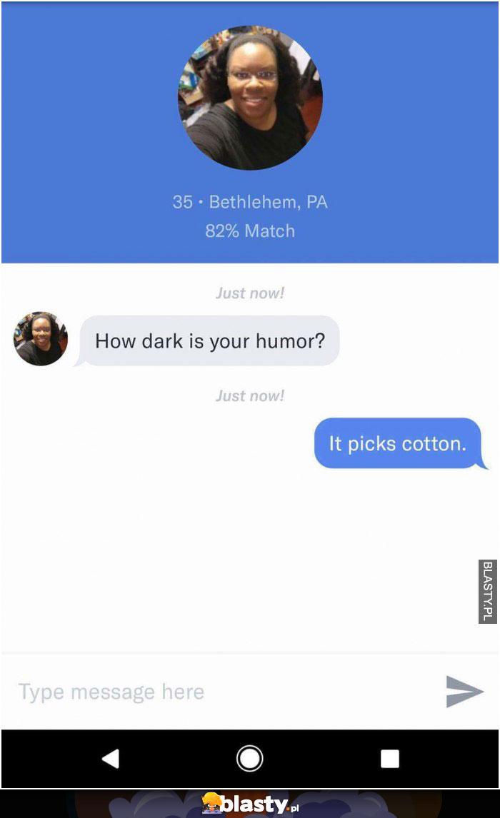 Jak czarny jest Twój humor