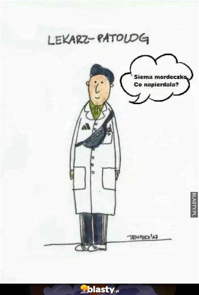 Lekarz patolog