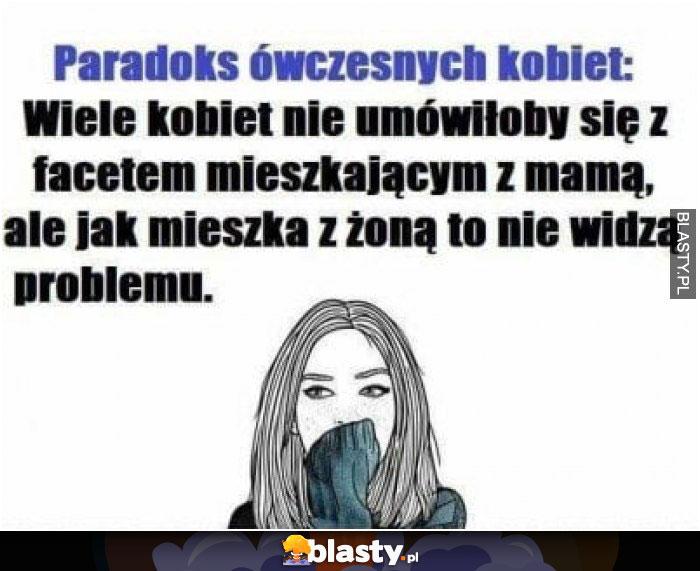 Paradoks ówczesnych kobiet