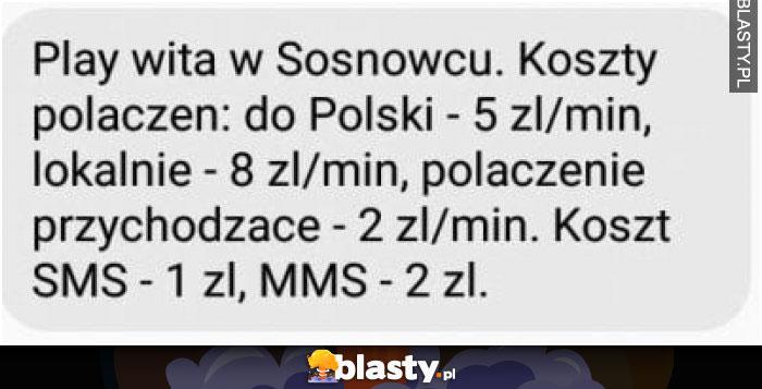 Play wita w Sosnowcu