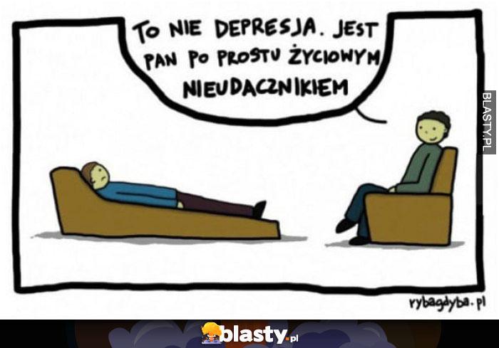 To nie depresja