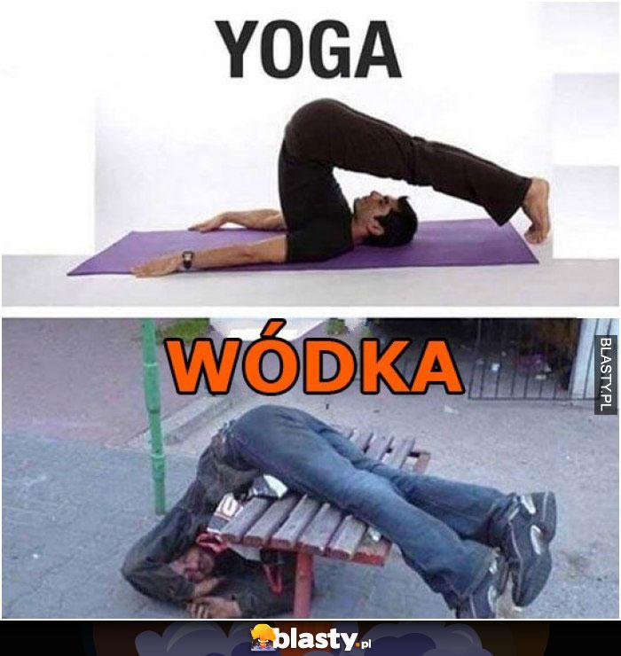 Yoga vs wódka