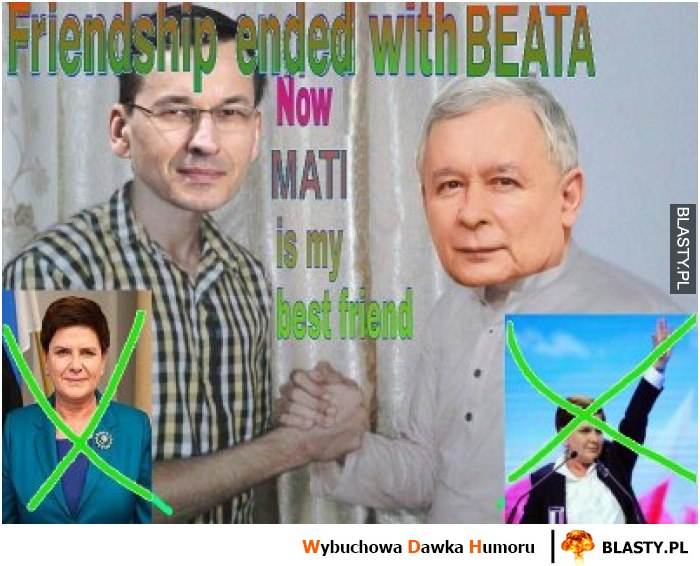 Friend ends with beata