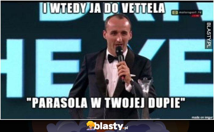 I wtedy ja do Vettela