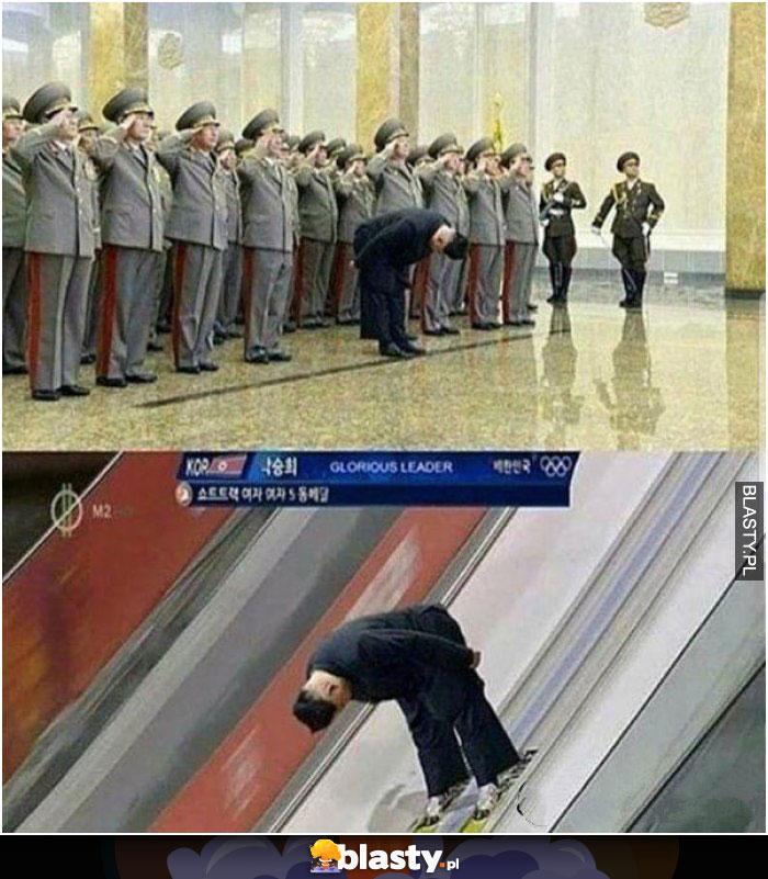 Kim Zong un ukłon