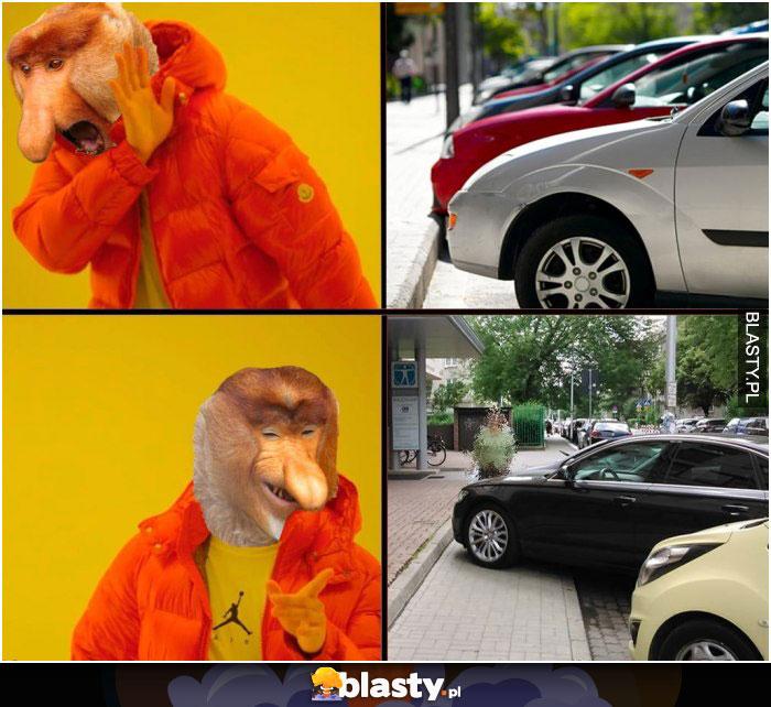 Parkowanie autem
