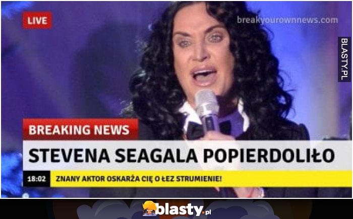Stevana Segala popierdoliło