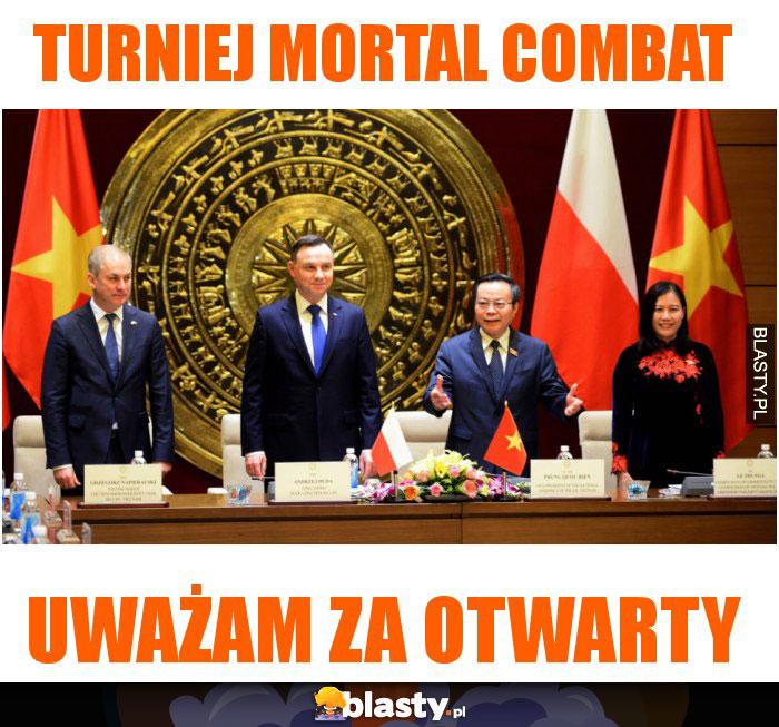 Turniej mortal combat