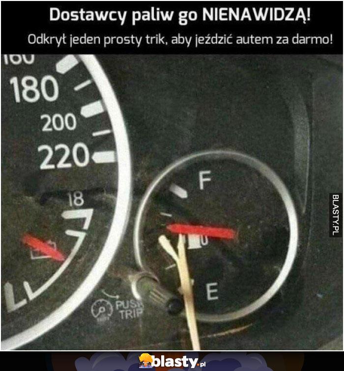 Dostawcy paliwa go nienawidzą