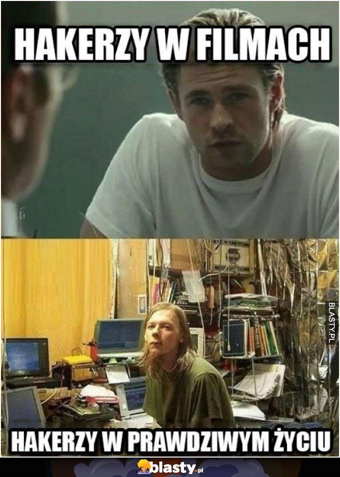Hakerzy w filmach vs w prawdziwym życiu