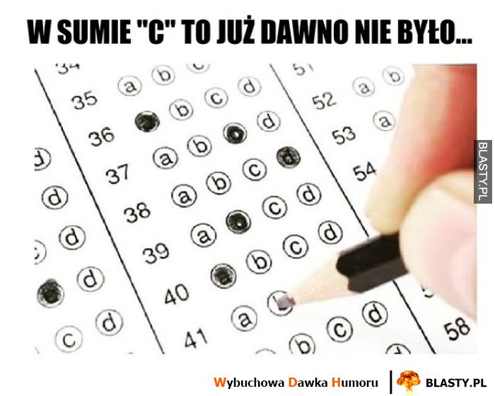 Jak pisać egzaminy testowe