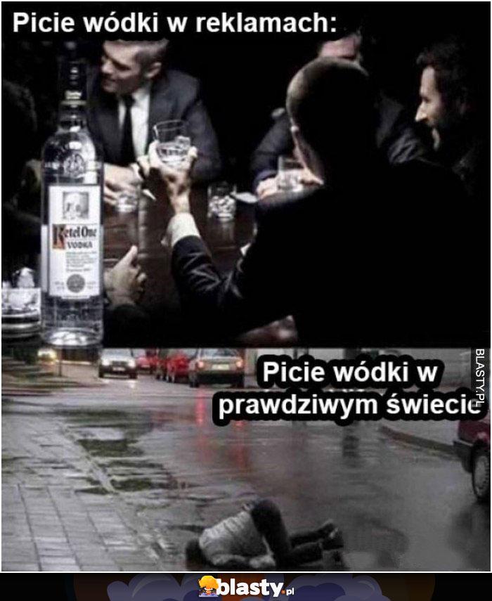 Jak spożywanie alkoholu przedstawiają reklamy a jak jest naprawdę