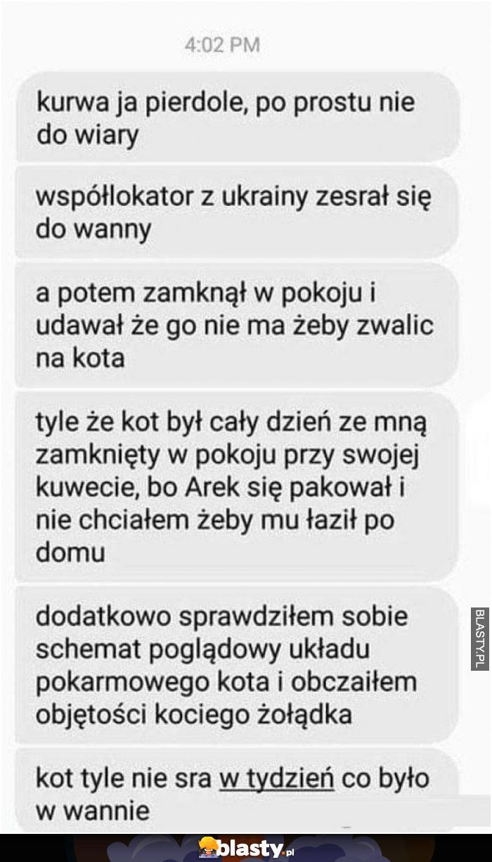 Kiedy mieszkasz z ukraińcem