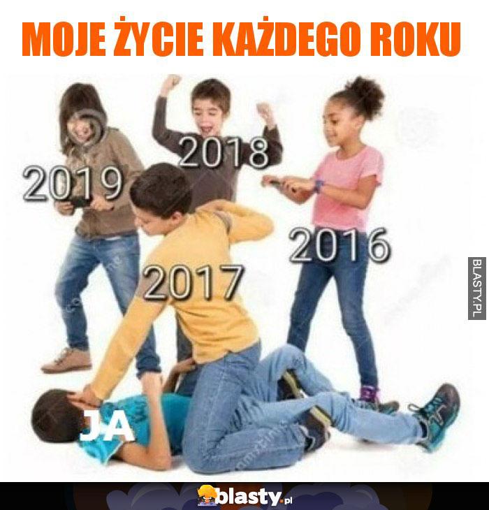 Moje życie każdego roku