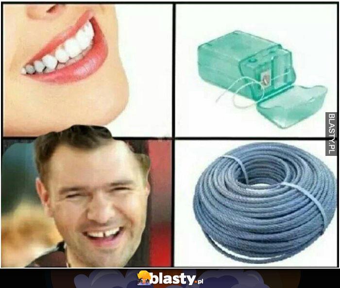 Nić dentystyczna karolak