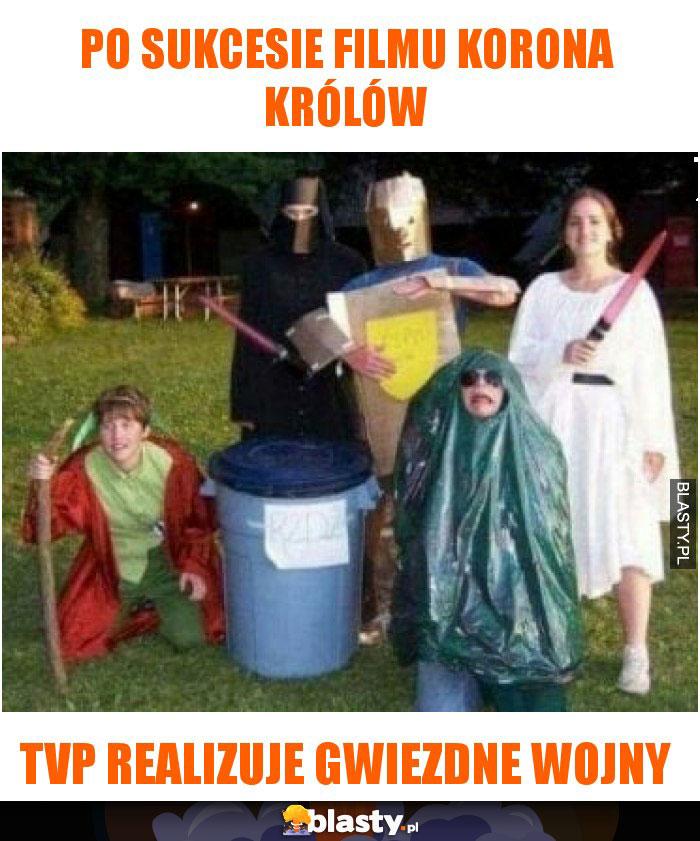 Po sukcesie filmu Korona Królów