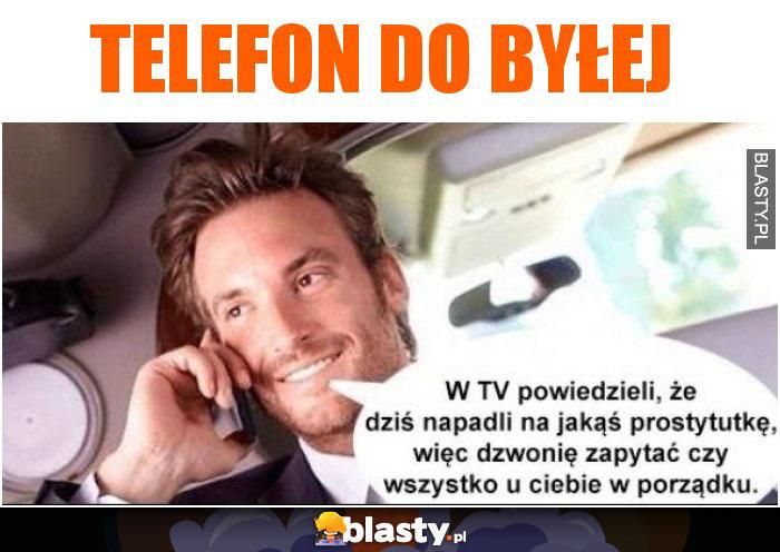Telefon do byłej