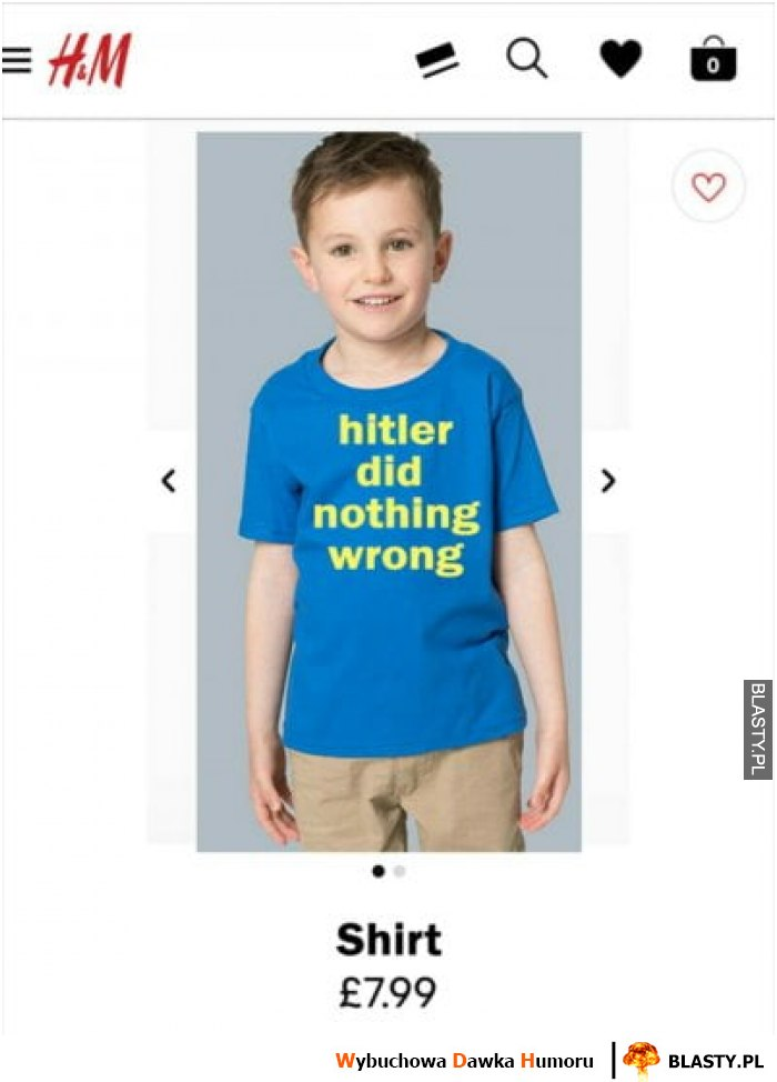 Ubrania H&M - hitler did nothing wrong