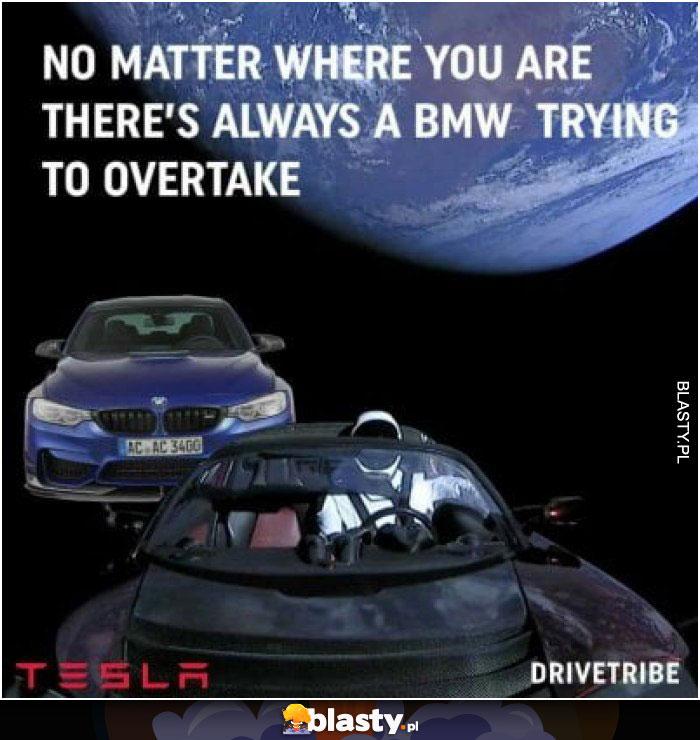 BMW zawsze siedzi Ci na dupie