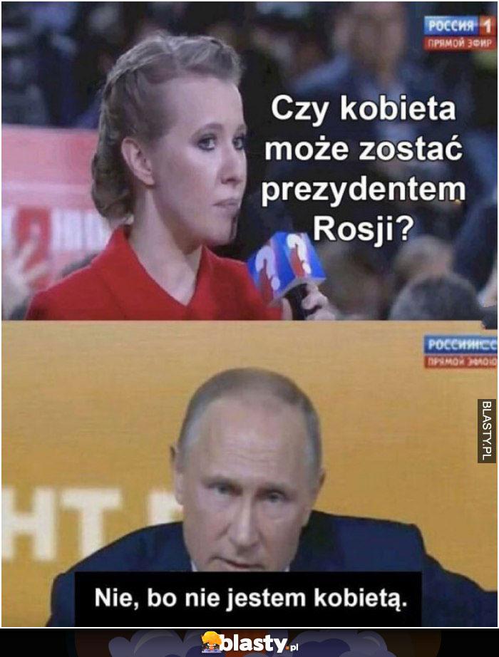 Czy kobieta może zostać prezydentem rosji ?