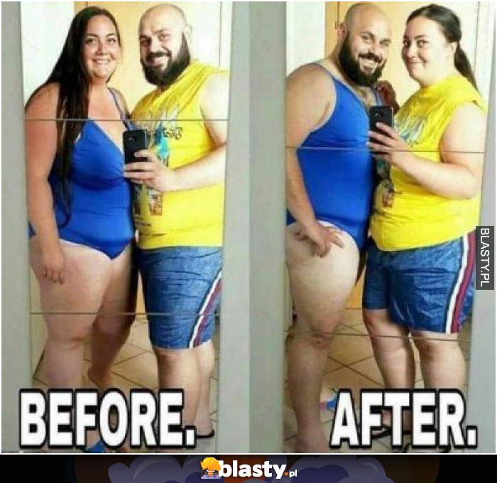 Przed vs po
