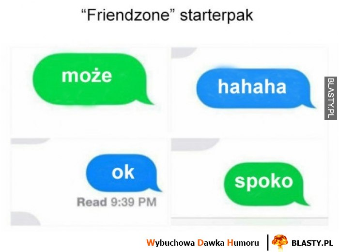 Friendzone starter pack