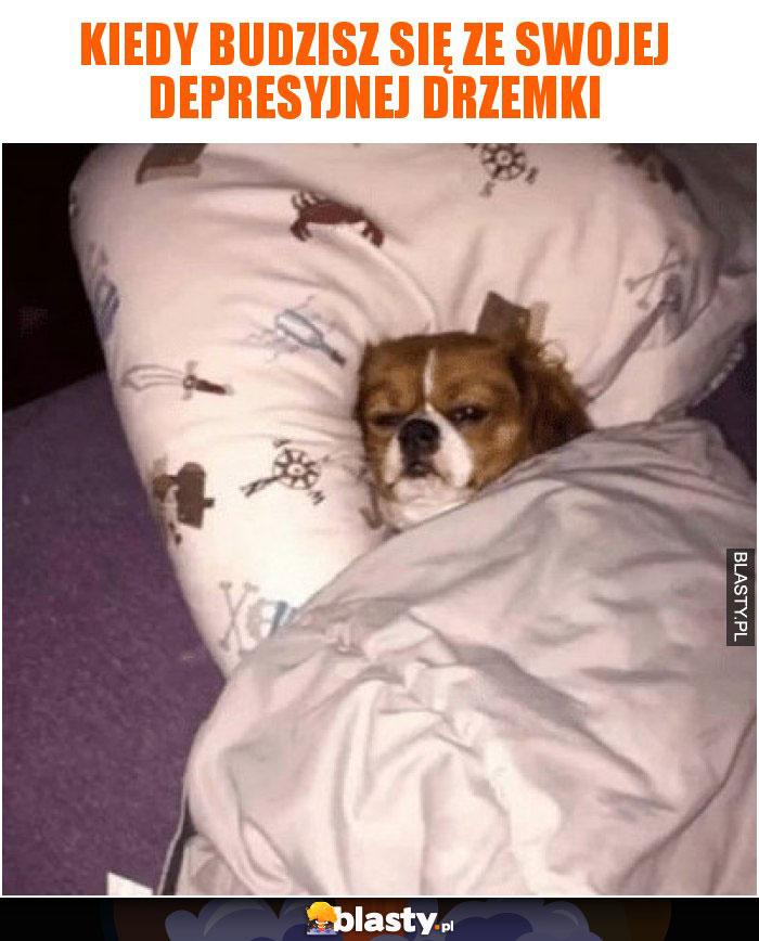 Kiedy budzisz się ze swojej depresyjnej drzemki