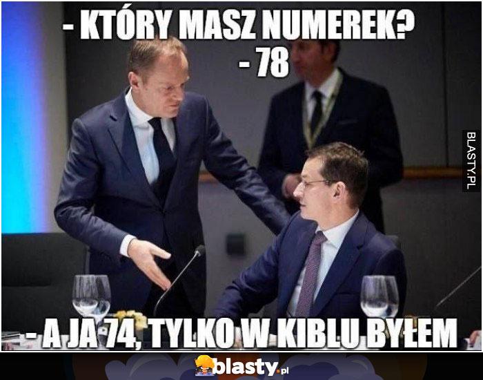 Który masz numerek ?