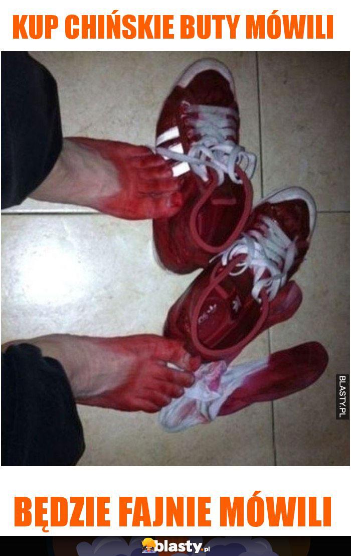 Kup chińskie buty mówili