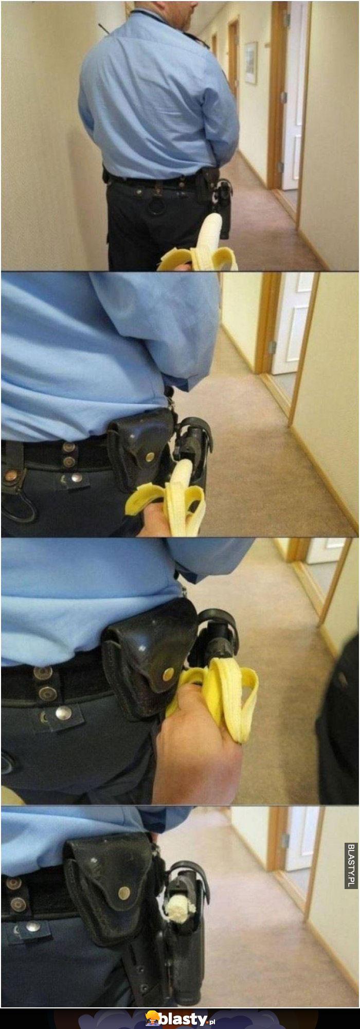 Trollowanie policjanta