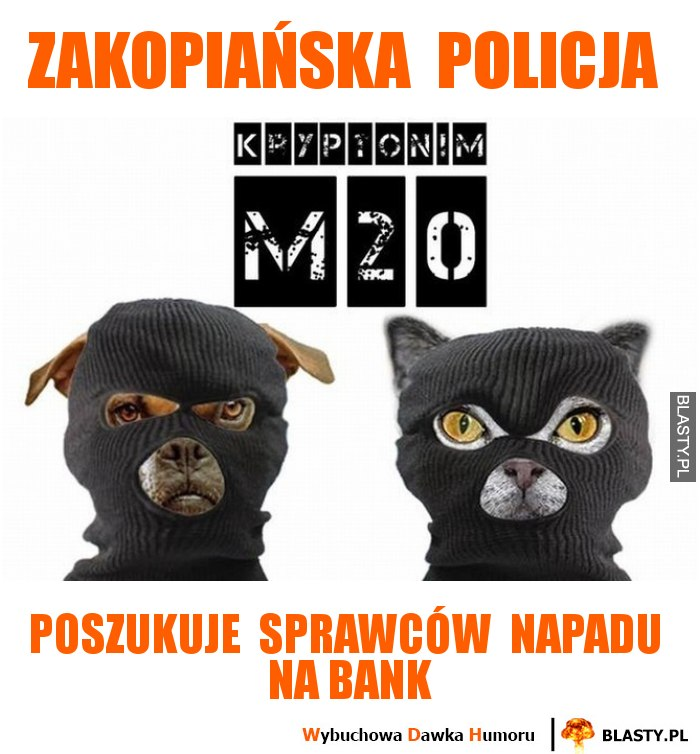 Zakopiańska  policja