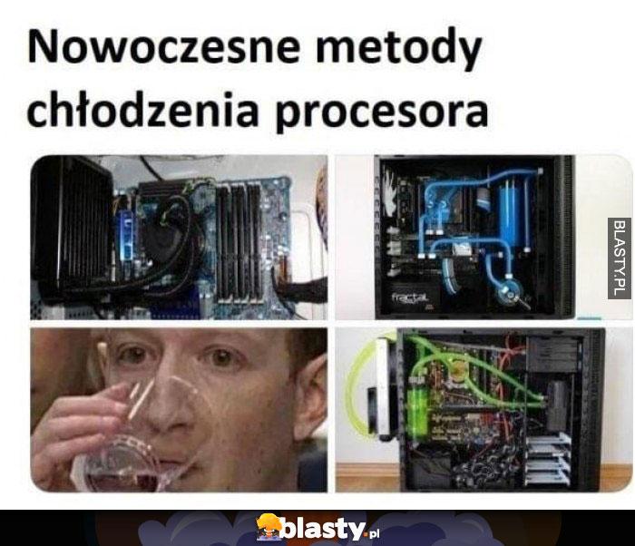 Nowoczesne metody chłodzenia procesora