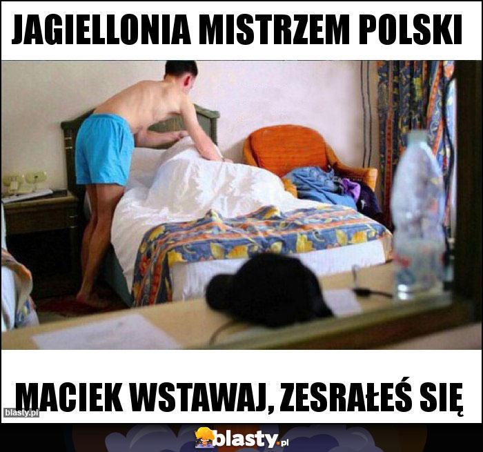Jagiellonia MIstrzem Polski