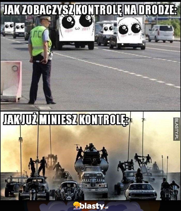 Kontrola na drodze