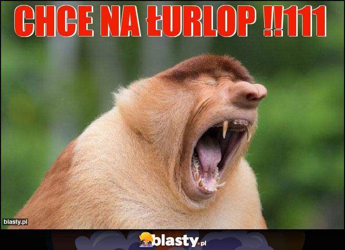 CHCE NA ŁURLOP !!111