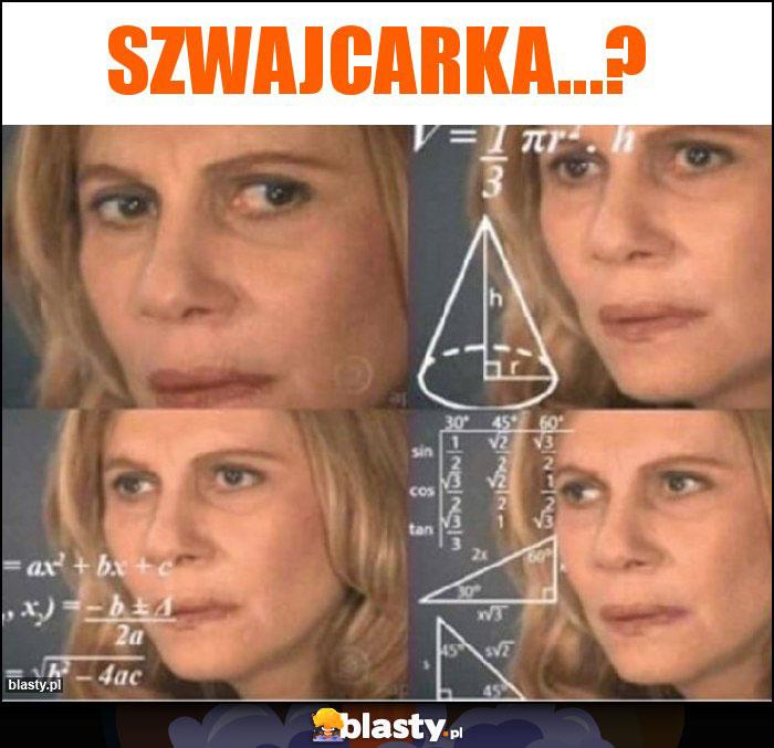 Szwajcarka...?