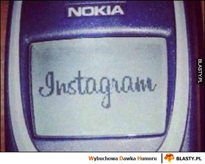 Instagram na starej Nokia 3310
