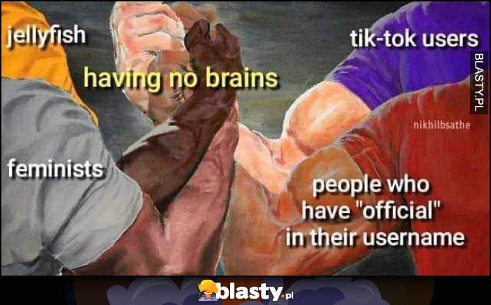 Nie mają mózgu