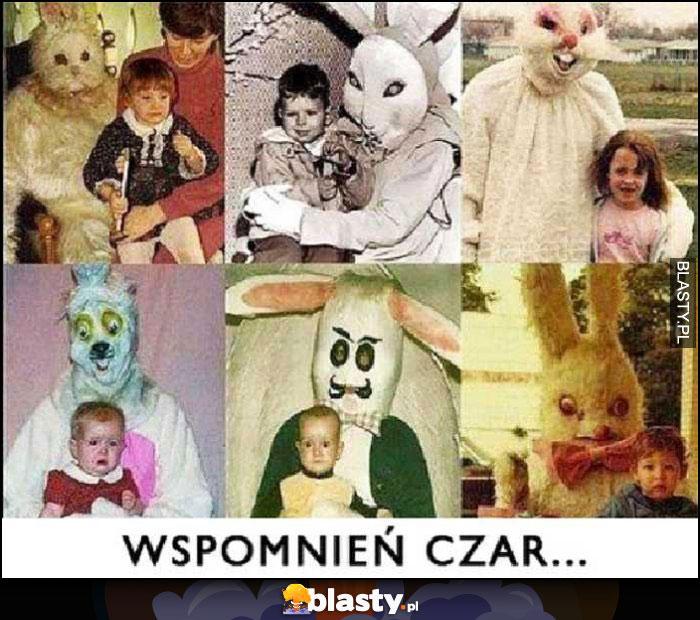 Wspomnień czar dzieci ze strasznymi maskotkami ludźmi w przebraniach
