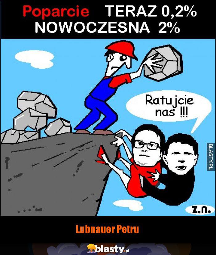 Lubnauer Petru satyra