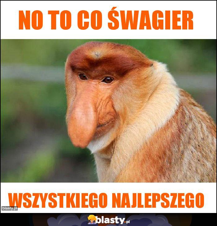 NO TO CO ŚWAGIER