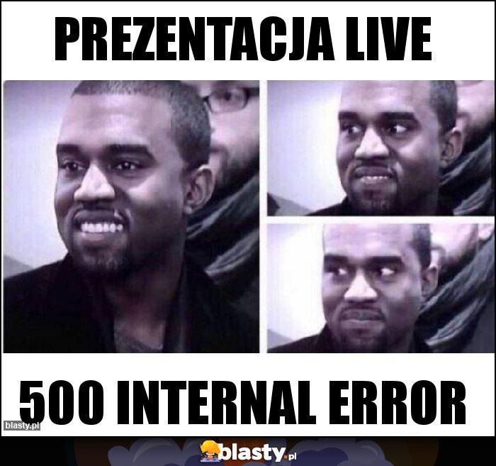 PREZENTACJA LIVE