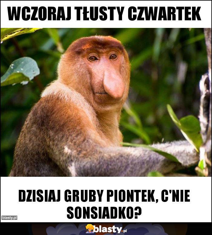 Wczoraj Tłusty Czwartek Memy Gify I śmieszne Obrazki Facebook