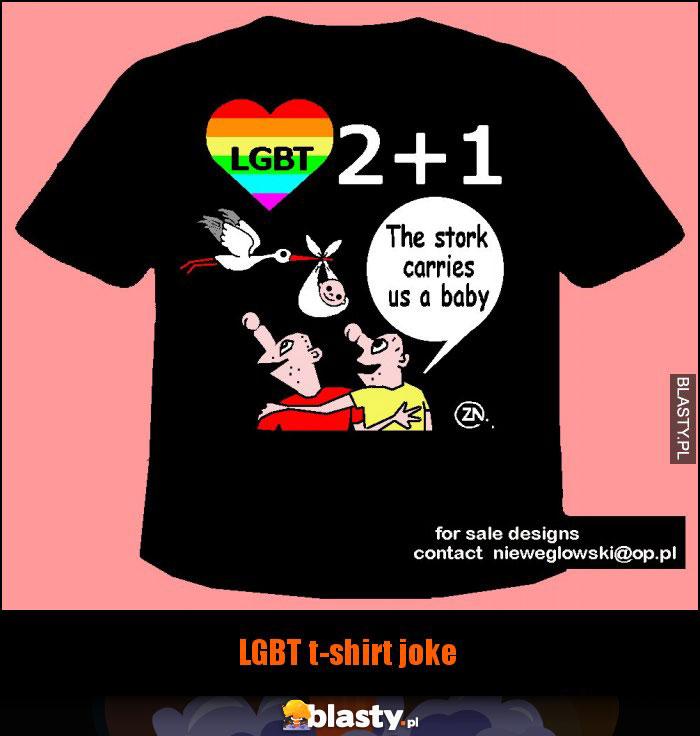 LGBT t-shirt joke