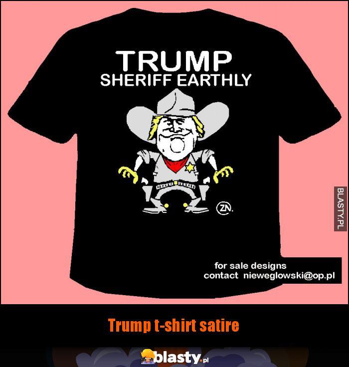 Trump t-shirt satire