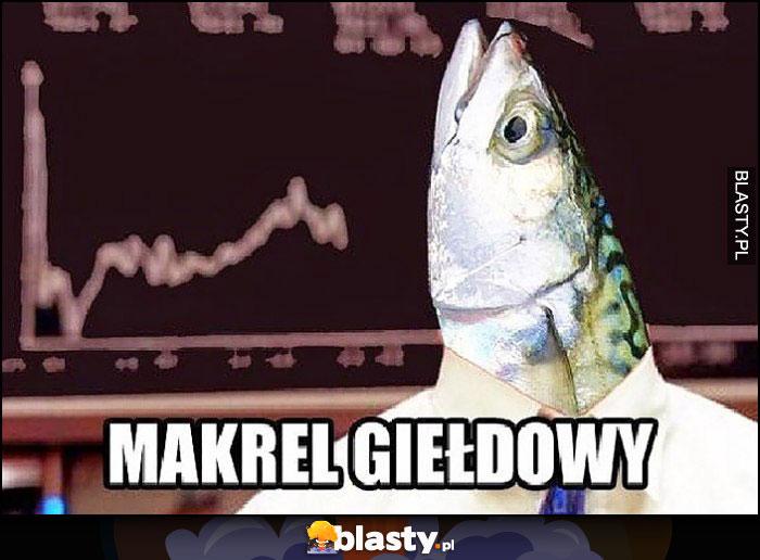 Makrel giełdowy ryba makrela