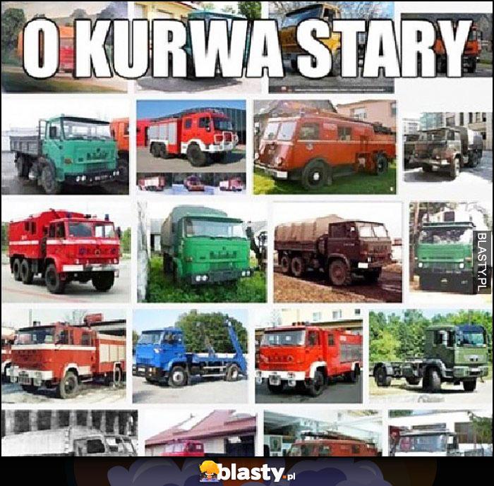 O kurna stary ciężarówki marki Star