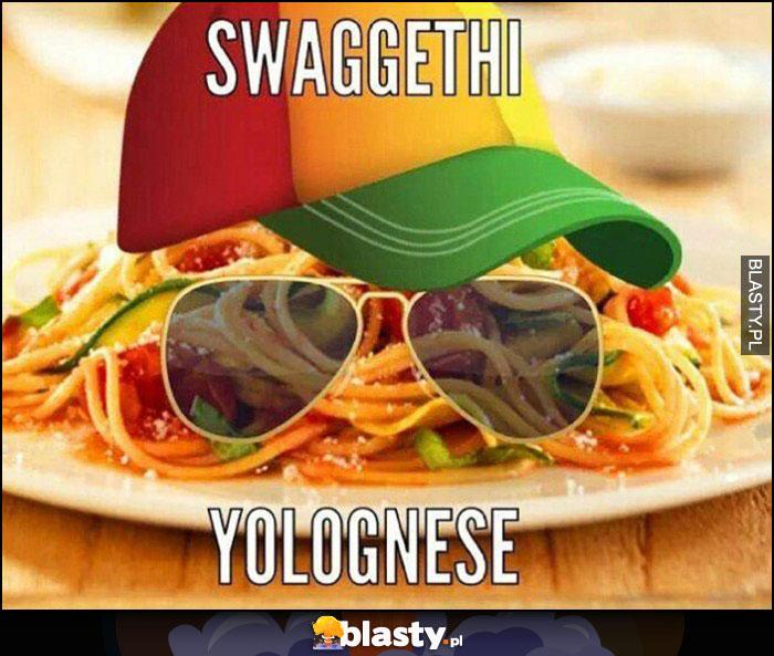 Swaggethi yolognese, spaghetti bolognese przeróbka